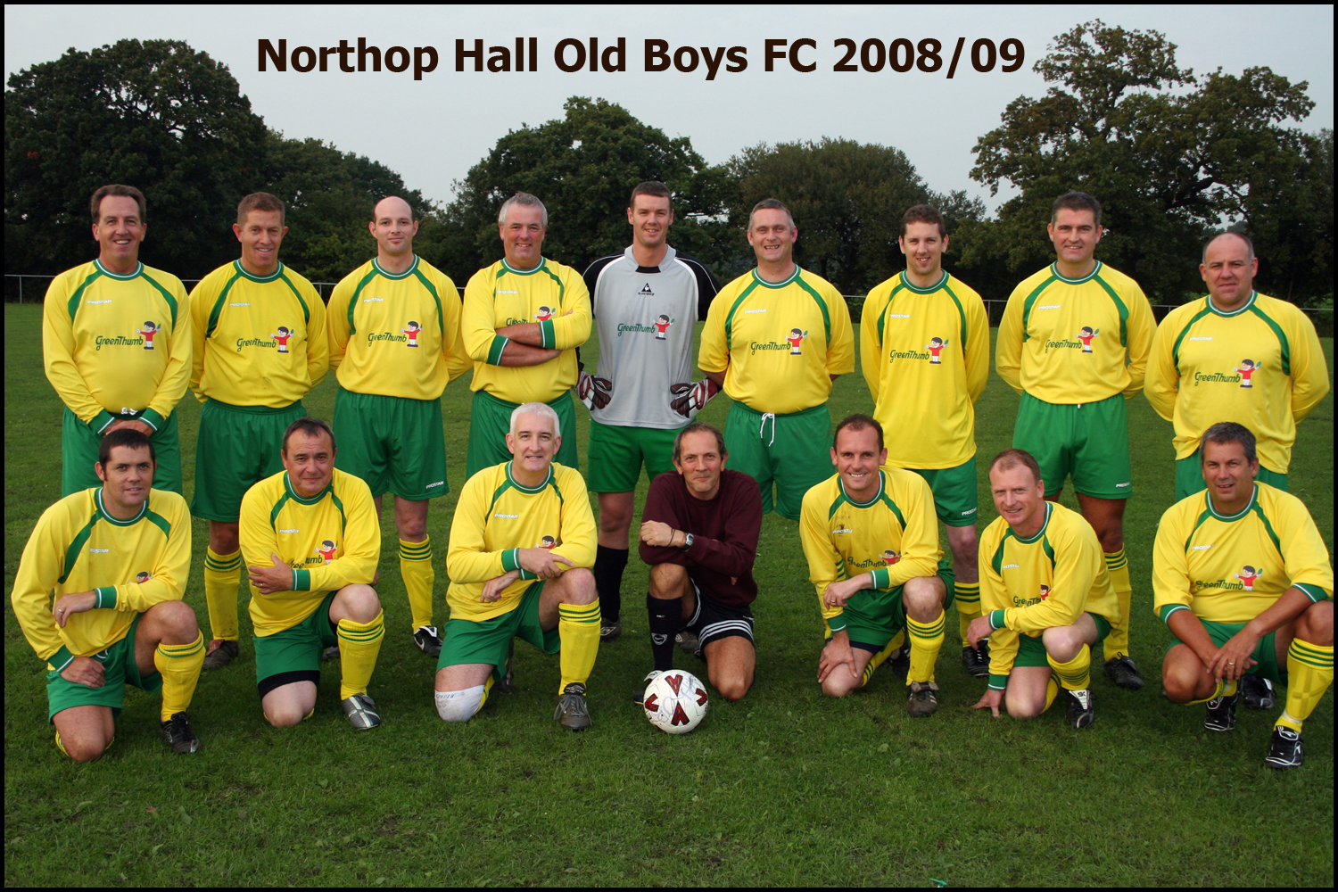 Northop Hall Old Boys 2008/09 Season
